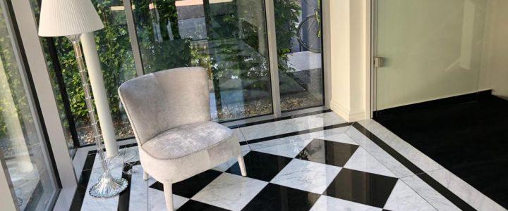 Marmor Schachbrett  classic imperial Style